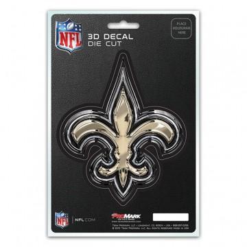New Orleans Saints Die Cut 3D Decal