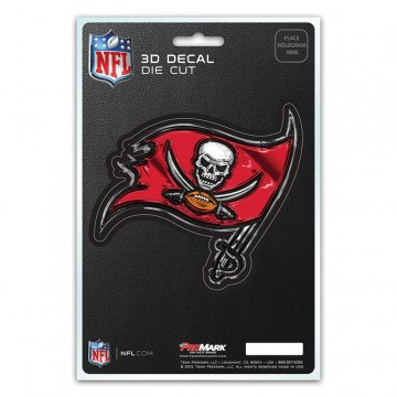 Tampa Bay Buccaneers Die Cut 3D Decal