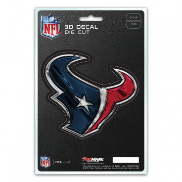 Houston Texans Die Cut 3D Decal