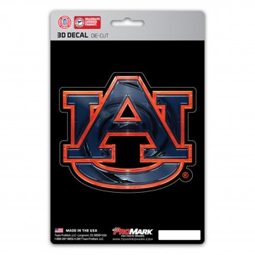 Auburn Tigers Die Cut 3D Decal