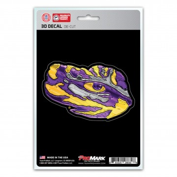 Louisiana State Tigers Die Cut 3D Decal
