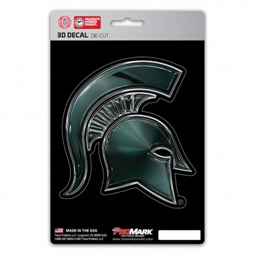Michigan State Spartans Die Cut 3D Decal