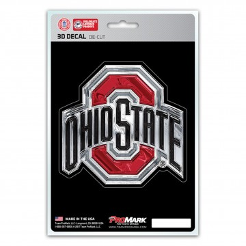 Ohio State Buckeyes Die Cut 3D Decal