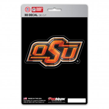Oklahoma State Cowboys Die Cut 3D Decal