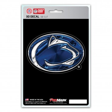 Penn State Nittany Lions Die Cut 3D Decal