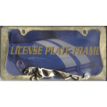 Jaguar Gold License Frame