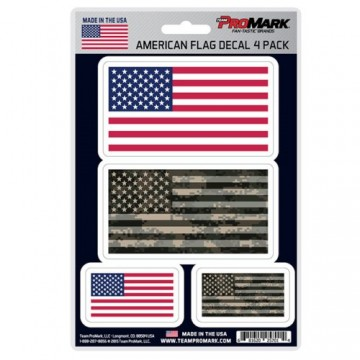 American Flag Decal Set