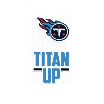 Tennessee Titans Double Up Die Cut Vinyl Stickers