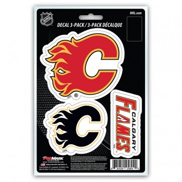 Calgary Flames Team Decal Set