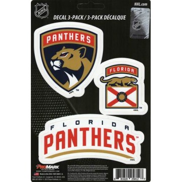 Florida Panthers Team Decal Set