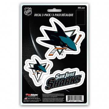 San Jose Sharks Team Decal Set
