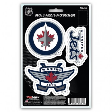 Winnipeg Jets Team Decal Set