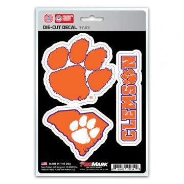 Clemson Tigers Team Decal Set