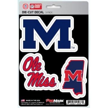 Mississippi Old Miss Rebels Team Decal Set