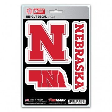 Nebraska Cornhuskers Team Decal Set