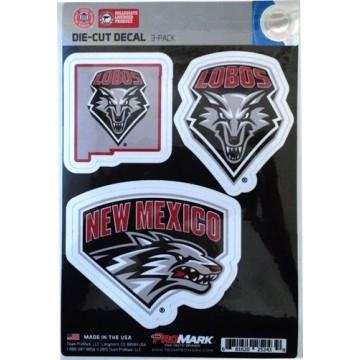 New Mexico Lobos Team Decal Set