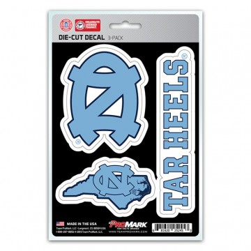 North Carolina Tar Heels Team Decal Set