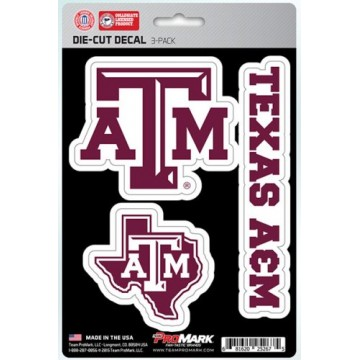 Texas A&M Aggies Team Decal Set
