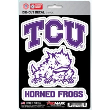 Texas Christian University Horned Frogs Team Decal Set