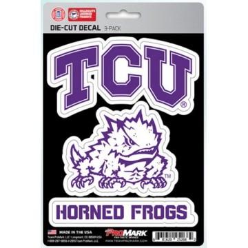 Texas Christian University Horned Frogs Team Decal Set