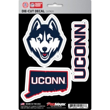 Connecticut Huskies Team Decal Set