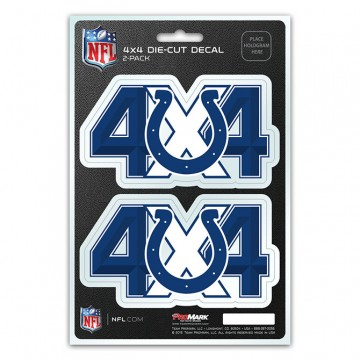 Indianapolis Colts 4x4 Decal Pack