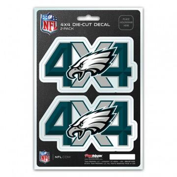 Philadelphia Eagles 4x4 Decal Pack