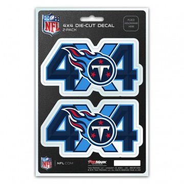 Tennessee Titans 4x4 Decal Pack
