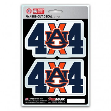 Auburn Tigers 4x4 Decal Pack