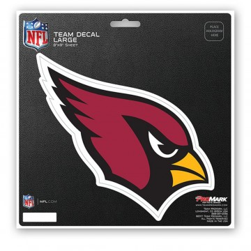 Arizona Cardinals 8X8 Die Cut Team Decal
