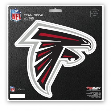 Atlanta Falcons 8X8 Die Cut Team Decal