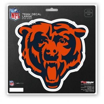 Chicago Bears 8X8 Die Cut Team Decal