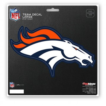 Denver Broncos 8X8 Die Cut Team Decal