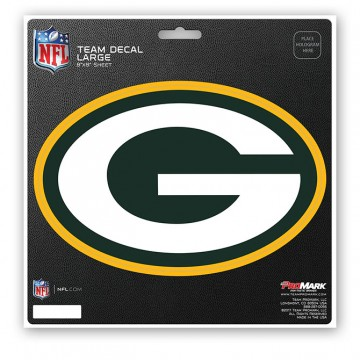 Green Bay Packers 8X8 Die Cut Team Decal