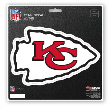 Kansas City Chiefs 8X8 Die Cut Team Decal