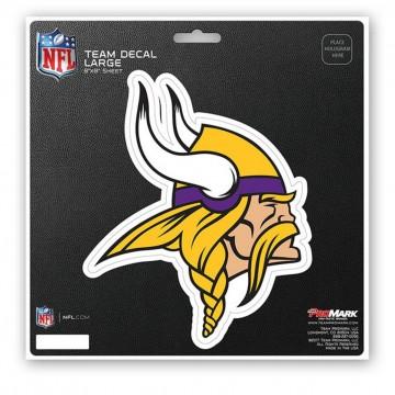 Minnesota Vikings 8X8 Die Cut Team Decal