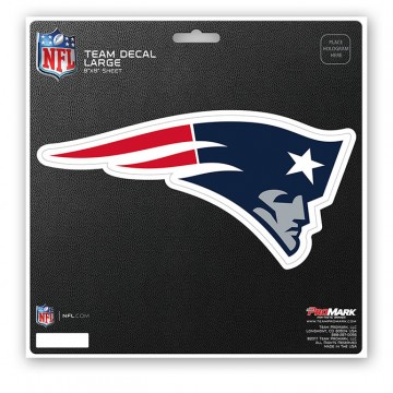 New England Patriots 8X8 Die Cut Team Decal