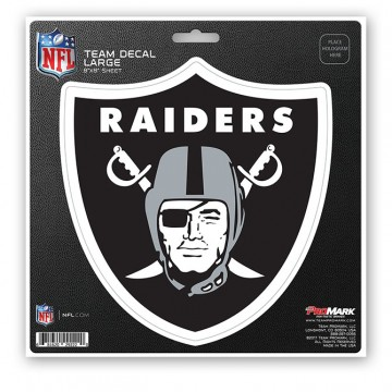 Oakland Raiders 8X8 Die Cut Team Decal