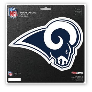 Los Angeles Rams 8X8 Die Cut Team Decal