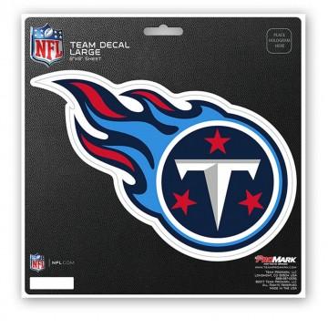 Tennessee Titans 8X8 Die Cut Team Decal