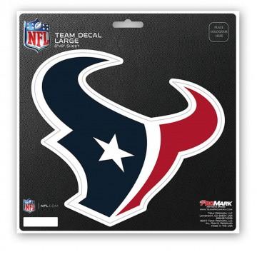 Houston Texans 8X8 Die Cut Team Decal