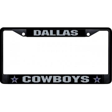 Dallas Cowboys Black License Plate Frame