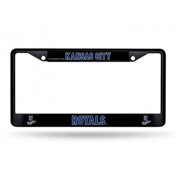 Kansas City Royals Black License Plate Frame