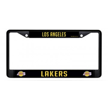 Los Angeles Lakers Black License Plate Frame