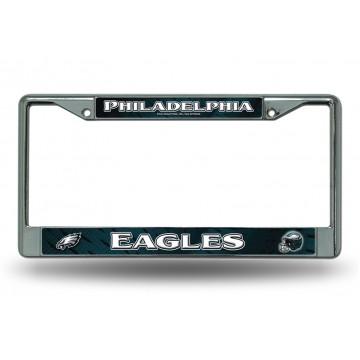 Philadelphia Eagles Chrome License Plate Frame