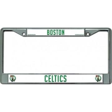 Boston Celtics Chrome License Plate Frame