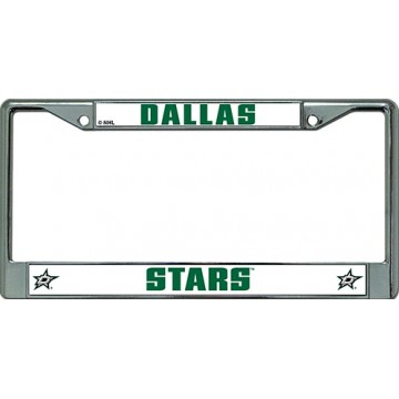 Dallas Stars Chrome License Plate Frame