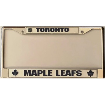 Toronto Maple Leafs Chrome License Plate Frame