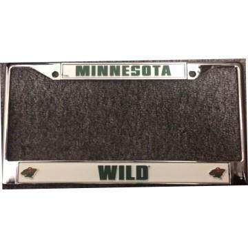 Minnesota Wild Chrome License Plate Frame