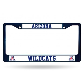 Arizona Wildcats Anodized Navy License Plate Frame